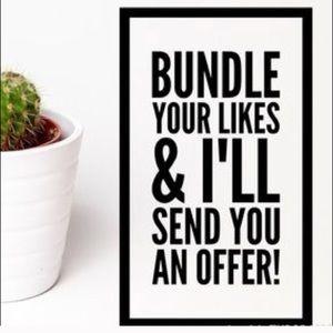 Other - #Let'sGetReadyToBundle!⚡️Save 10% on 2 items